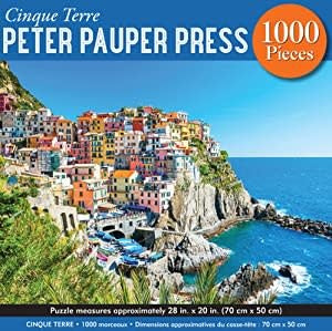 Table Top Cafe Puzzle: 1000 Cinque Terre