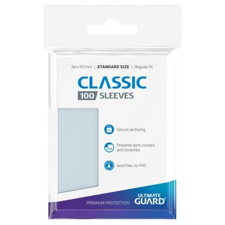 Table Top Cafe Ultimate Guard Classic Standard Sleeves 66x93mm
