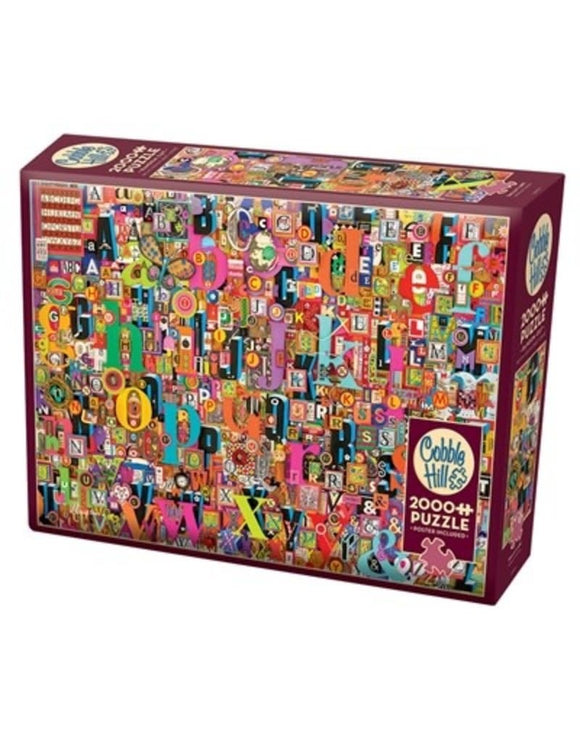 Table Top Cafe Puzzle: 2000 Shelley's ABC
