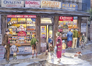 Table Top Cafe Puzzle: 500 The Corner Shop