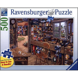 Table Top Cafe Puzzle: 500 Dad's Shed