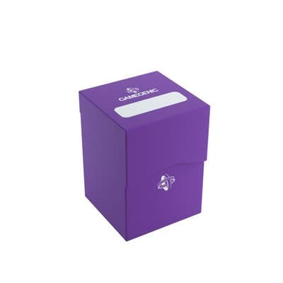 Table Top Cafe Deck Box Purple