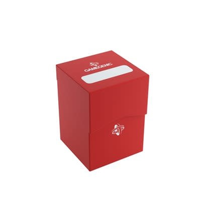 Table Top Cafe Deck Box Red