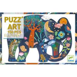 Table Top Cafe Puzz'art Puzzle: 150 Elephant