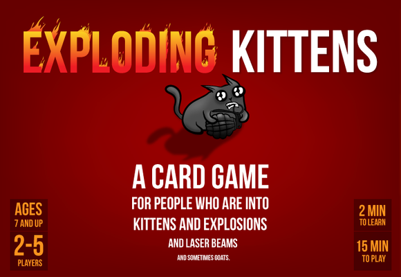 Table Top Cafe Exploding Kittens