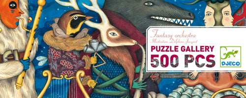 Table Top Cafe Puzzle: 500 Fantasy Orchestra