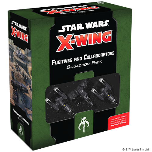 Table Top Cafe Star Wars X-Wing 2.0: Fugitives and Collaborators Squadron Pack