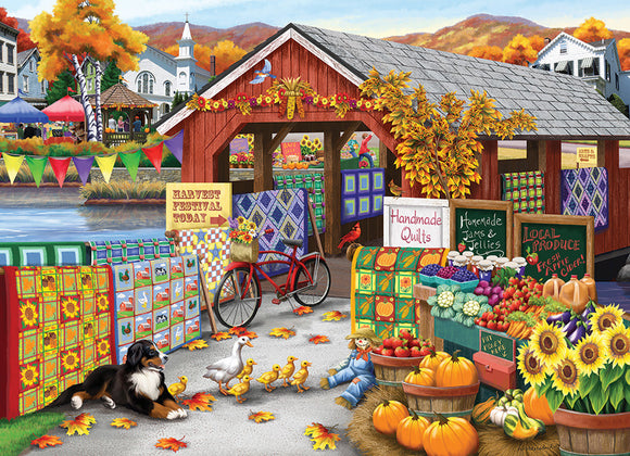 Table Top Cafe Puzzle: 500 Harvest Festival