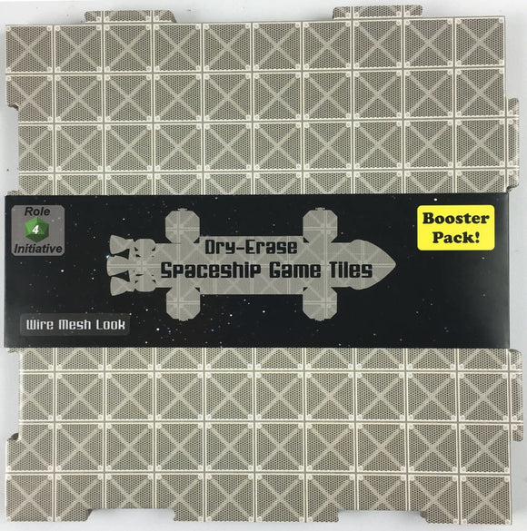 Table Top Cafe Dungeon Tiles - Wire Mesh - Pack of 2 (10'') and 8 (5'') squares