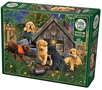Table Top Cafe Puzzle: 1000 In the Dog House