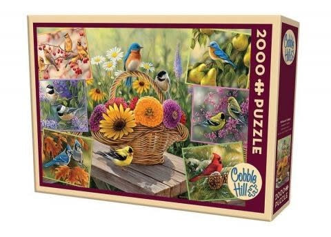Table Top Cafe Puzzle: 2000 Rosemary's Birds