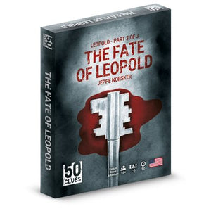 Table Top Cafe 50 Clues: The Fate of Leopold