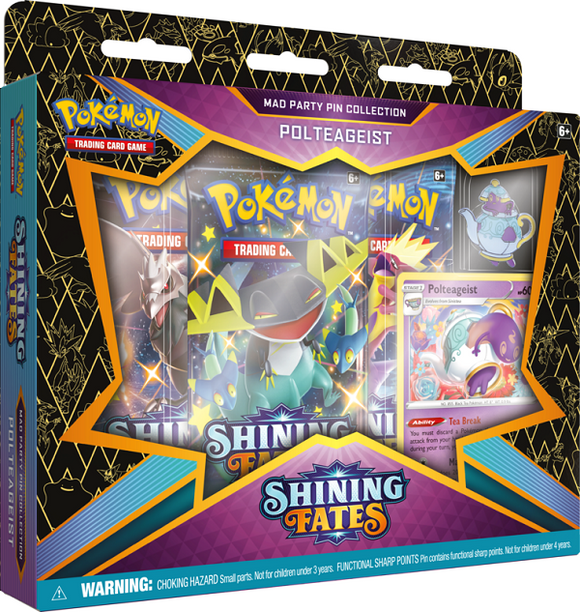 Table Top Cafe Pokemon: Shining Fates - Mad Party Pin Collection