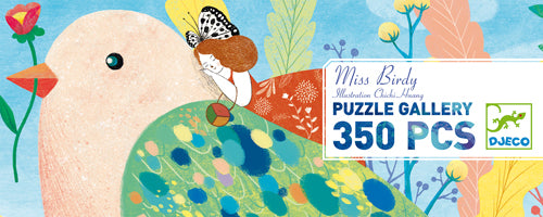 Table Top Cafe Puzzle: 350 Miss Birdy