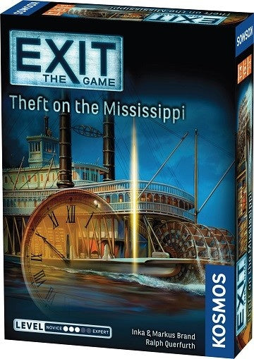 Table Top Cafe EXIT: Theft on the Mississippi