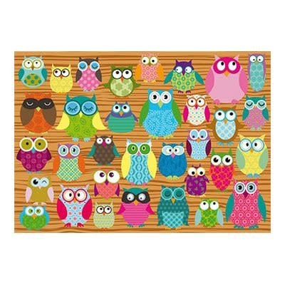 Table Top Cafe Puzzle: 500 Owls