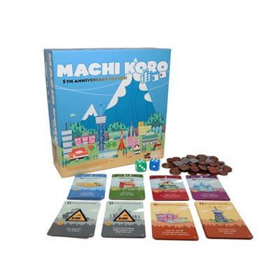 Table Top Cafe Machi Koro: 5th Anniversary Edition