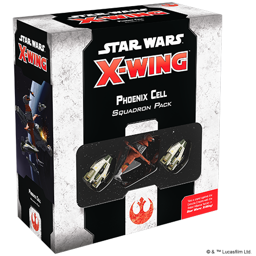 Table Top Cafe Star Wars X-Wing 2.0: Phoenix Cell Squadron