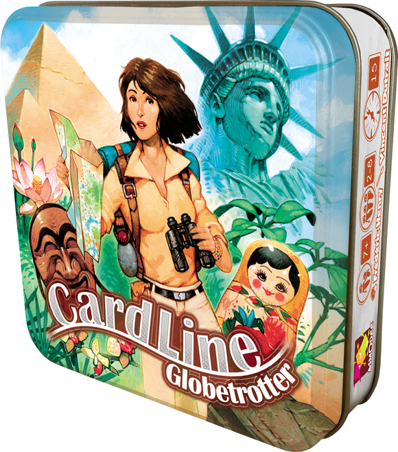 Table Top Cafe Cardline: Globetrotter