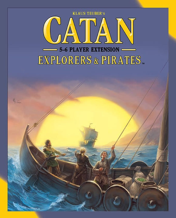 Table Top Cafe Catan: Explorers & Pirates - 5-6 Player Extension