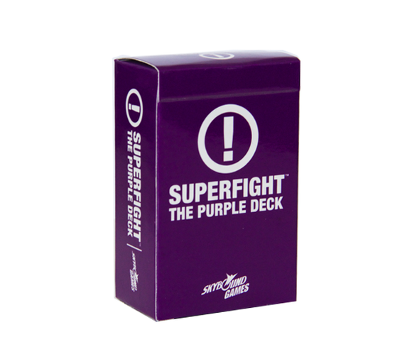 Table Top Cafe SUPERFIGHT!: The Purple Deck