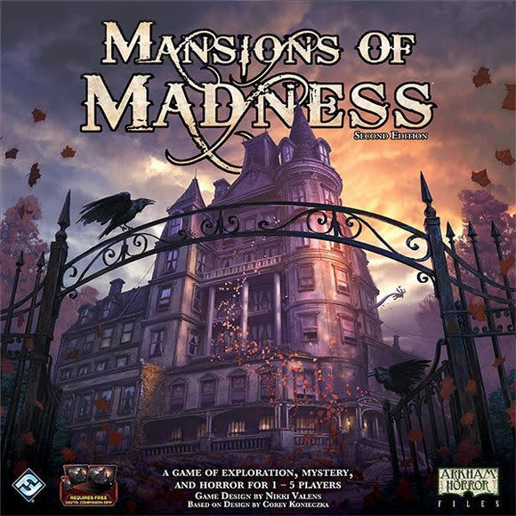 Table Top Cafe Mansions of Madness (Second Edition)