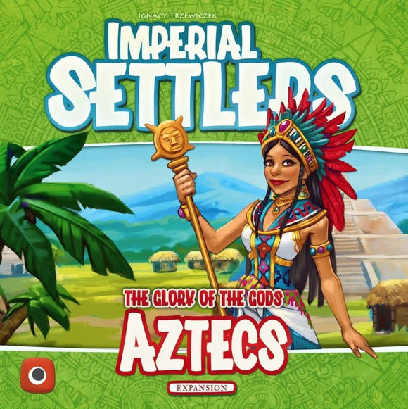 Table Top Cafe Imperial Settlers: Aztecs