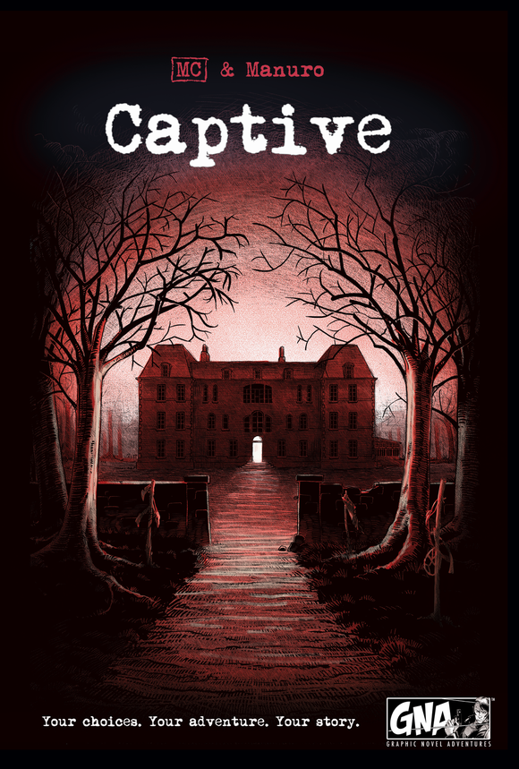 Table Top Cafe Graphic Novel Adventure: Captive