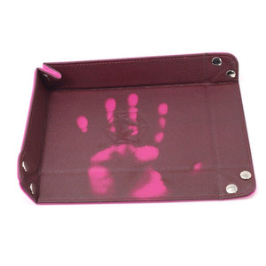 Table Top Cafe Die Hard Dice Tray: Thermic Pink w/ Pink Velvet