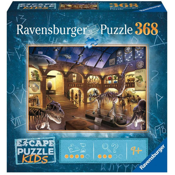 Table Top Cafe Puzzle: ESCAPE 368 Museum Mysteries