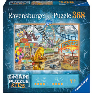 Table Top Cafe Puzzle: ESCAPE 368 Amusement Park Plight