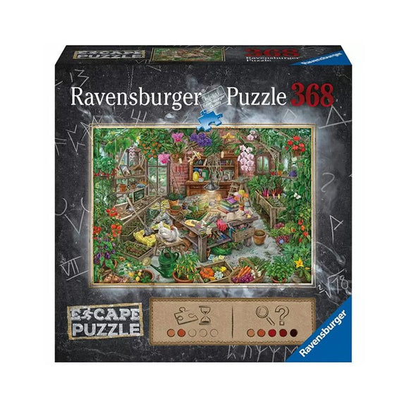 Table Top Cafe Puzzle: ESCAPE 368 The Greenhouse