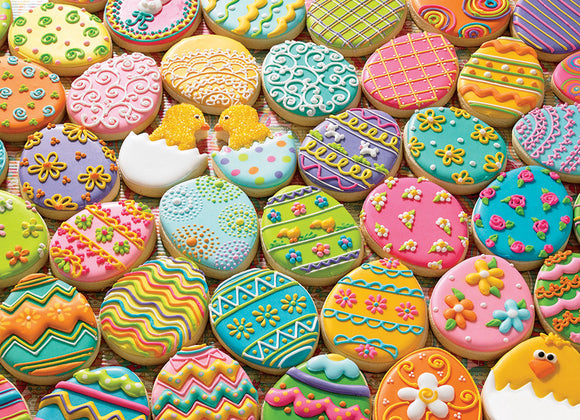 Table Top Cafe Puzzle: 350 Easter Cookies