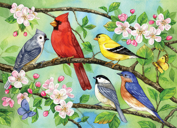Table Top Cafe Puzzle: 350 Bloomin' Birds