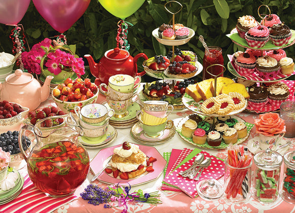 Table Top Cafe Puzzle: 1000 Garden Party