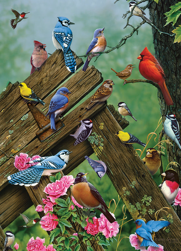 Table Top Cafe Puzzle: 1000 Birds of the Forest