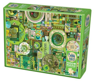 Table Top Cafe Puzzle: 1000 Green