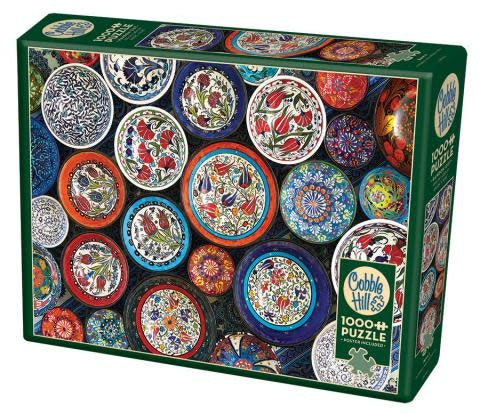 Table Top Cafe Puzzle: 1000 Bowls
