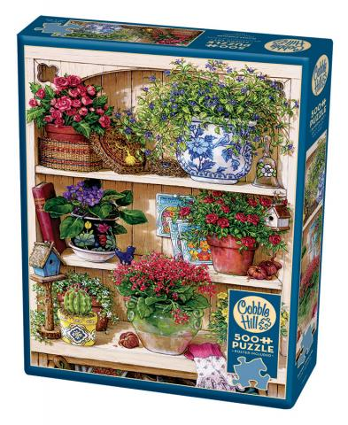 Table Top Cafe Puzzle: 500 Flower Cupboard
