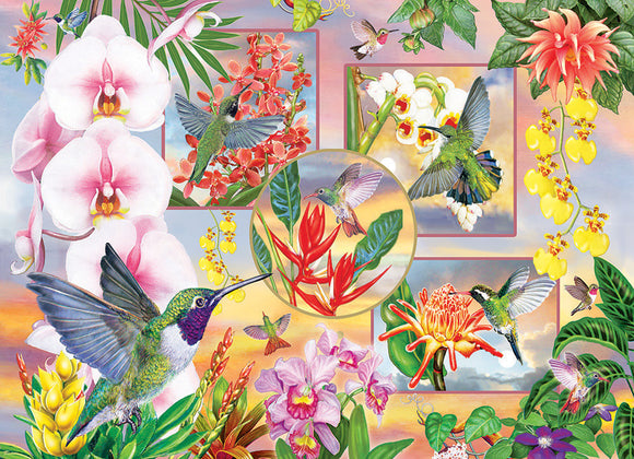 Table Top Cafe Puzzle: 500 Hummingbird Magic