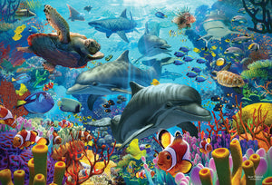 Table Top Cafe Puzzle: 2000 Coral Sea