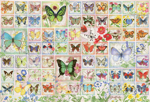 Table Top Cafe Puzzle: 2000 Butterflies and Blossoms