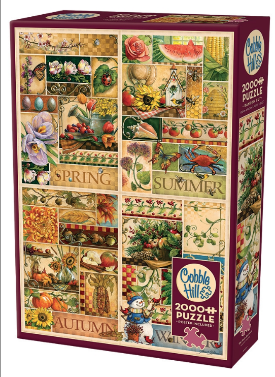 Table Top Cafe Puzzle: 2000 The Four Seasons
