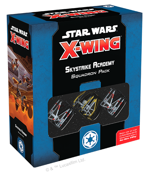 Table Top Cafe Star Wars X-Wing 2.0: Skystrike Acadaemy Squadron Pack