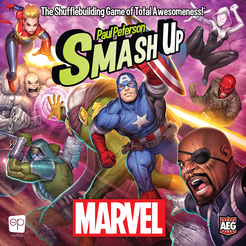 Table Top Cafe Smash Up: Marvel