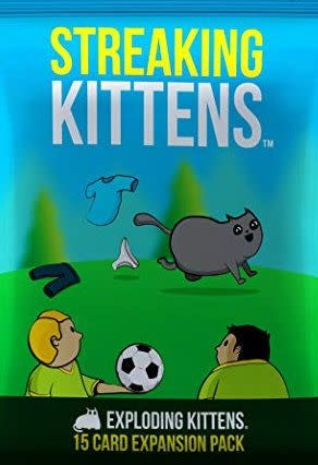Table Top Cafe Exploding Kittens: Streaking Kittens