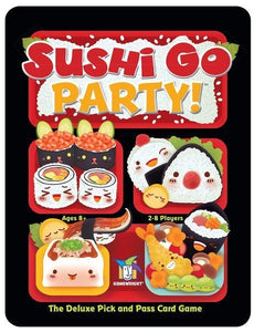 Table Top Cafe Sushi Go Party!