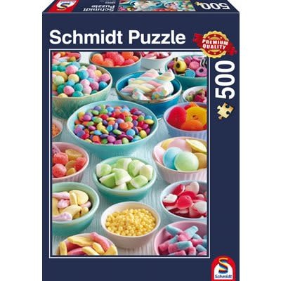 Table Top Cafe Puzzle: 500 Sweet Temptations