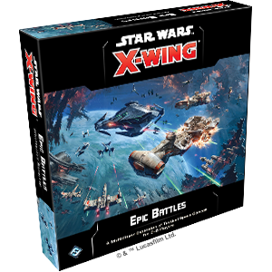 Table Top Cafe Star Wars X-Wing 2.0: Epic Battles Multiplayer Conversion