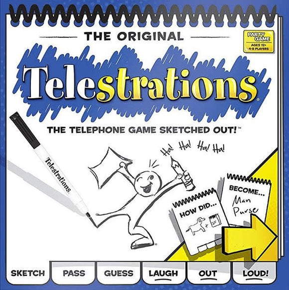 Table Top Cafe Telestrations® 8 Player - The Original